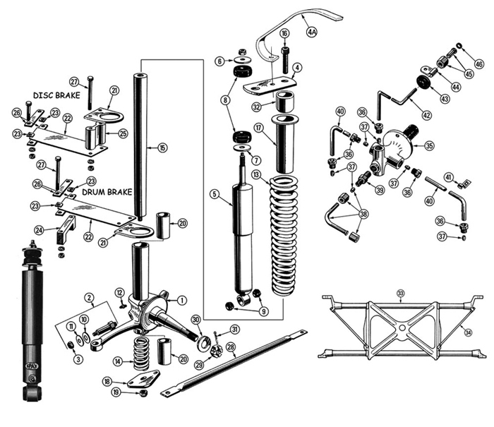 Ford F650 Front Suspension Parts Diagram