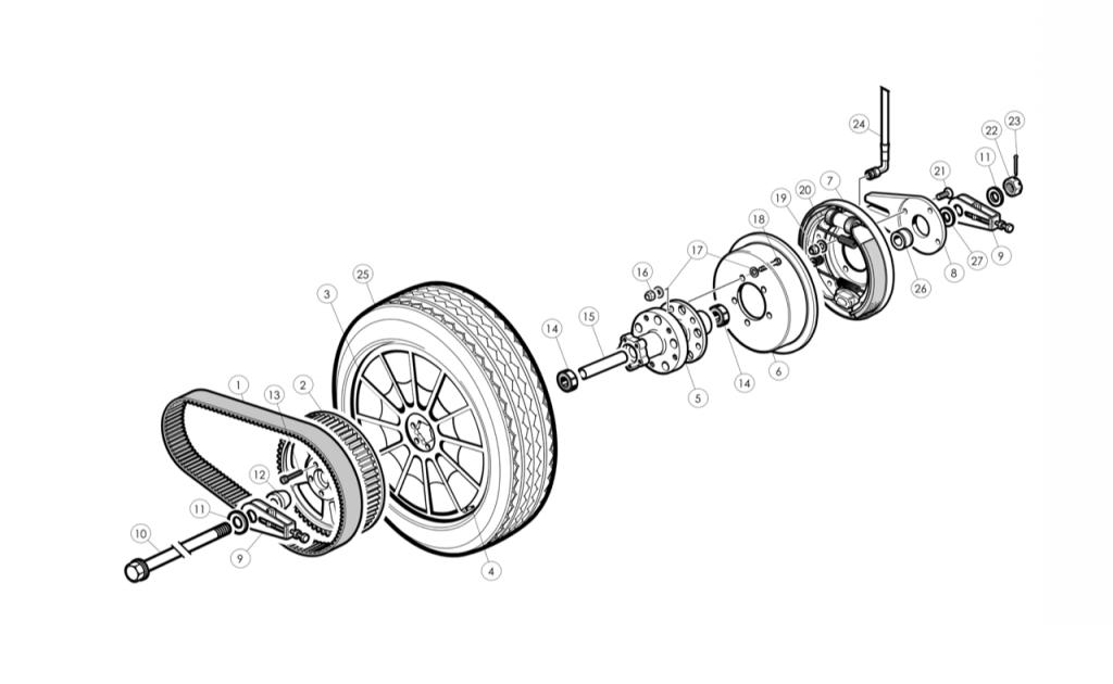 Brakes/Suspension | morgan-spares com